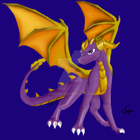 spyro colored by Minerea