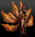Ahri (Foxfire) by Sticklove
