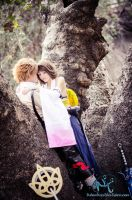Yuna and Tidus by WhenWasThisTaken