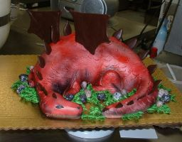 Dragon Cake by Kahlan4