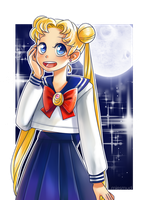 Sailor Moon by miesmud