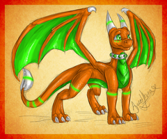 Colored Sketch - Ivory by SweetLhuna
