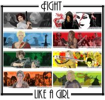 Fight like a girl I - All Together Now by aristi1982