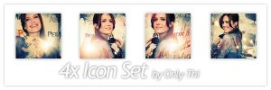 Mandy Moore - Icon Set 26 by only-thi