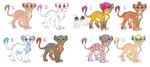 Crystarium Lion Cub Adoptables 1 by KoyukitoriGirl