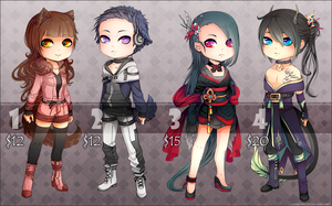 Adopts ::: Set 1 [Closed] by Saibraeus