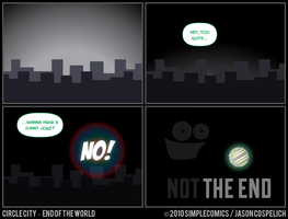 CC450 - End of the World 50 by simpleCOMICS