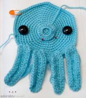 Octopus Bag work in progress by adorablykawaii