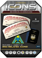 BSG Icons Vol 12 by CQ - OS X by BSG75