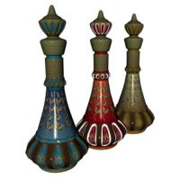 3 Genie Bottles by TexelGirl-Stock