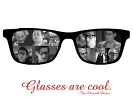 Glasses are cool-Wallpaper by pfeifhuhn