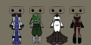 Outfit Adoptable Set 2 - OPEN (4/4) by imaginary-shops