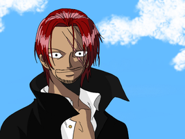 Red Haired Shanks by Irishluffy