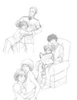 APH sketches by Minuiko