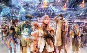 Final Fantasy 13 Wallpaper 2 by sassycerulean