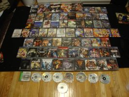 video game collection by XxxDarkAngelxx