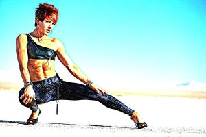 Fitness Model Alison by rorydnumber2