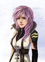 FFXIII: Lightning by Renuski