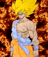 Goku basic by DannyFCool