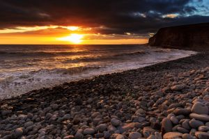 Dunraven Bay, South Wales by Spudgun