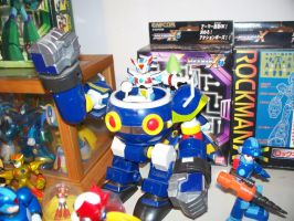 My MegaMan Figure Collection 13 by Gileum