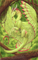 Forest Dragon by Lunakia