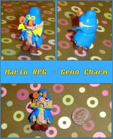 Mario RPG - Geno Figurine by YellerCrakka