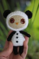 Panda Teemo from League of Legends Amigurumi Doll by Npantz22