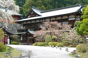 Courtyard in Nikko by CaraOrdinaryVanity