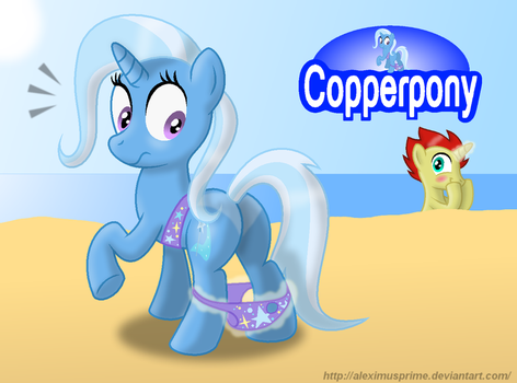 Coppertone Trixie by AleximusPrime