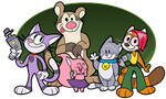 Commander Kitty (Group Pic) by CommanderKitty1