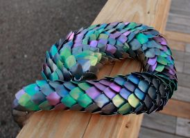 Anodized Titanium Dragon Tail by DracoLoricatus