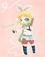 Kagamine Rin~~ by MalicaLoves
