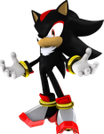 Shadow the Hedgehog (P3) by itsHelias94