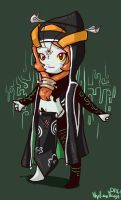 TP Spoiler -- Midna Chibi by hylianmage