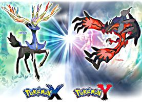 Legendary Pokemon of Kalos by PokemonXandYbrave
