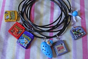 Nintendo Charms by pamtamarindo