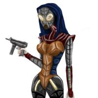 Freedom Fighter coloured by jadza54