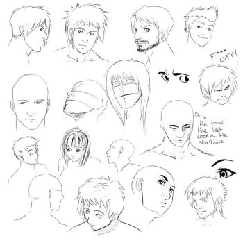 Angled face tips by chi-u