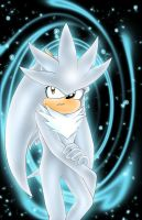 Silver the hedgehog by Taleea