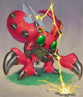 Tentomon by sasakaz
