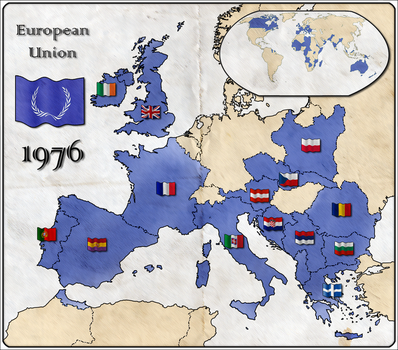 1st Alternate Map of EU by Magnificate