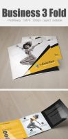 Dance Studio Square Trifold Template by Designhub719