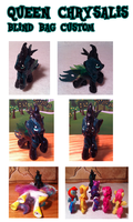 Queen Chrysalis Blind Bag Custom by Scaramouche-Fandango