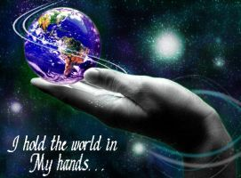 I hold the world in my hands by starlitefairy24