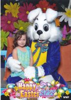 Jasmine and the Easter Bunny 2012 by Puppiluvr