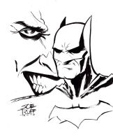 Batman Sketch 2 by JoeRuff