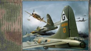3rd Reich LW Airwar Over Germay 1943 by slowmo by PanzerBob