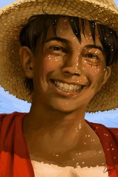 Monkey D. Luffy by cathyrox