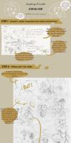 Kigo comic- STEP BY STEP by batlesbo